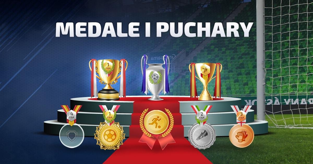 Informacje o medalach i pucharach
