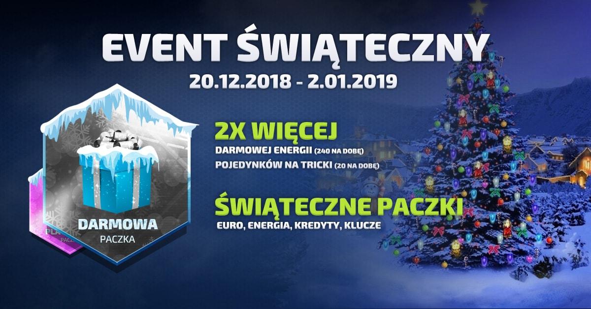 event świąteczny 2018