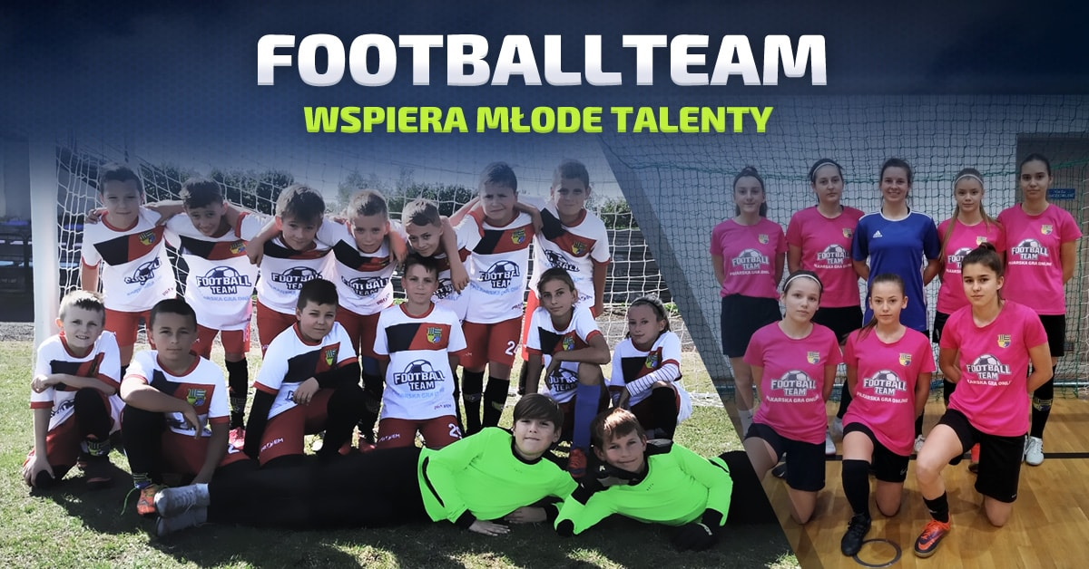 Football Team wspiera młode talenty!